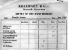 A Report card from the real Scaisbrook Hall